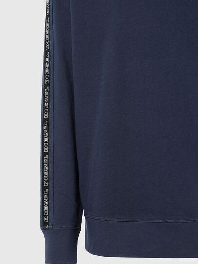 Diesel - UMLT-WILLY, Blue - Sweatshirts - Image 3