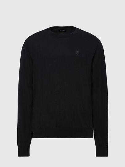 Diesel - K-CROFT, Black - Sweaters - Image 1