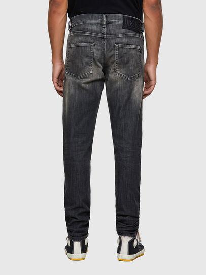 Diesel - D-Strukt Slim JoggJeans® 09B54, Black/Dark Grey - Jeans - Image 2