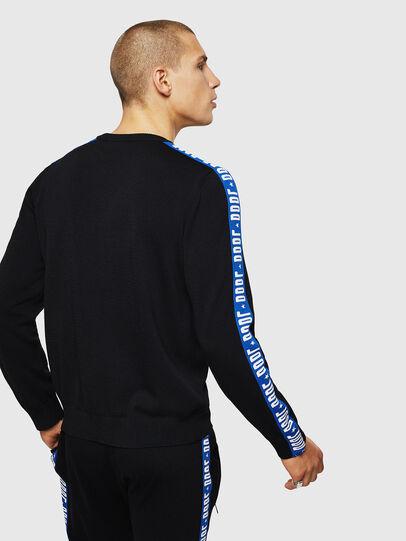 Diesel - K-TRACKY-B, Black/Blue - Sweaters - Image 2