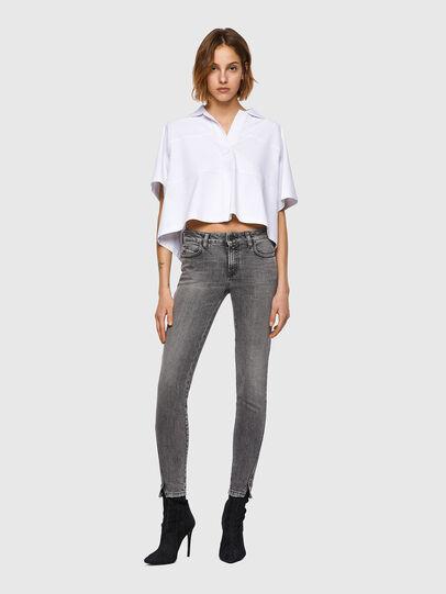 Diesel - D-Jevel Slim Jeans 09A72, Light Grey - Jeans - Image 6