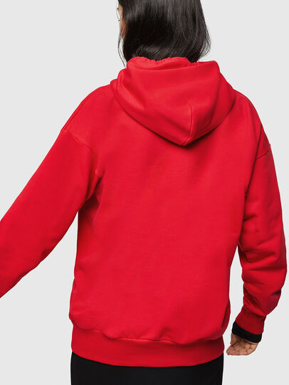 Diesel - LCP-S-ALBY-RIO, Red - Sweatshirts - Image 4