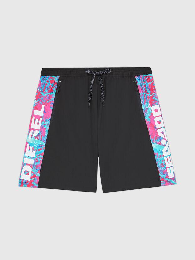 BMBX-TUNADOO, Black - Swim shorts
