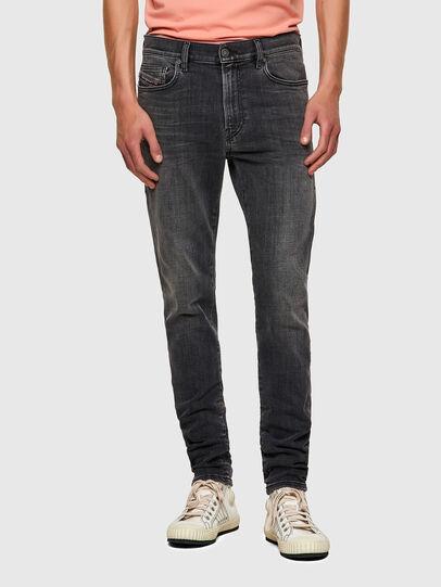 Diesel - D-Amny Skinny Jeans 09A18, Black/Dark Grey - Jeans - Image 1