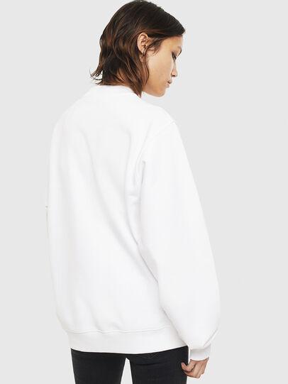 Diesel - F-ANG-S3, White - Sweatshirts - Image 2