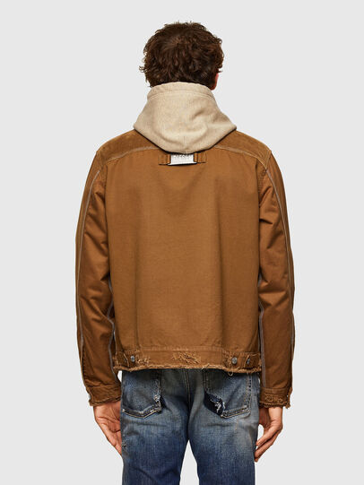 Diesel - J-BRUNO, Brown - Jackets - Image 2