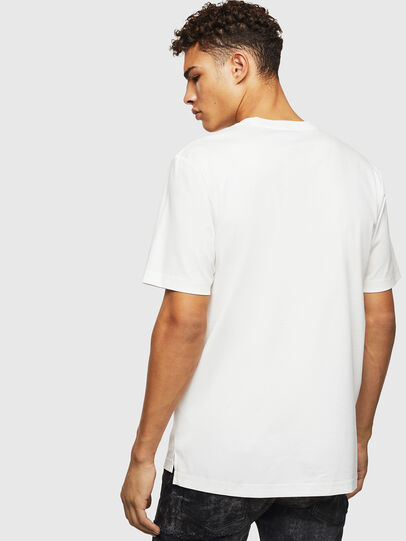 Diesel - T-JUST-POCKET-J1, White - T-Shirts - Image 2