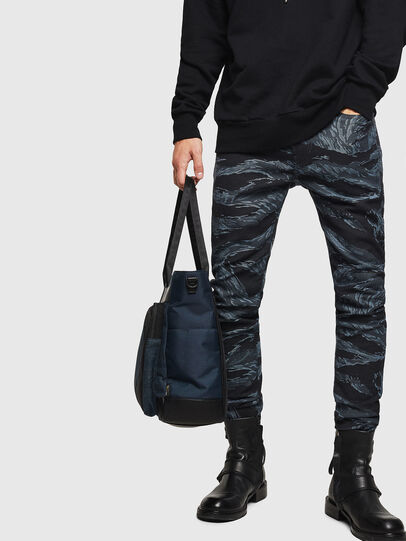 Diesel - BAGOTE, Dark Blue - Shopping and Shoulder Bags - Image 6