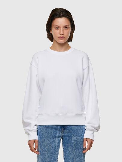 Diesel - F-LYM-C.C, White - Sweatshirts - Image 1