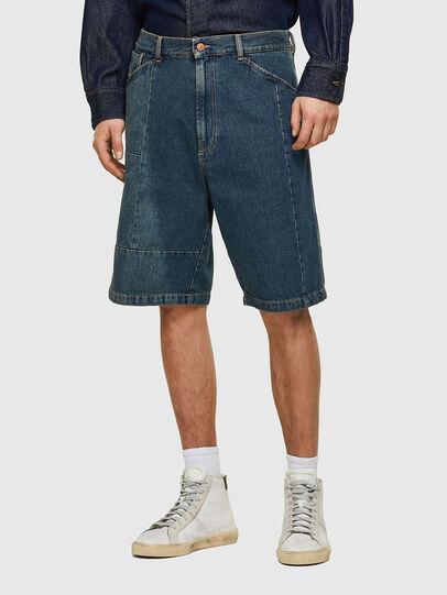 Diesel - D-FRANS-SP, Azul medio - Shorts - Image 1