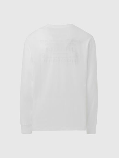 Diesel - T-JUST-LS-X91, White - T-Shirts - Image 2