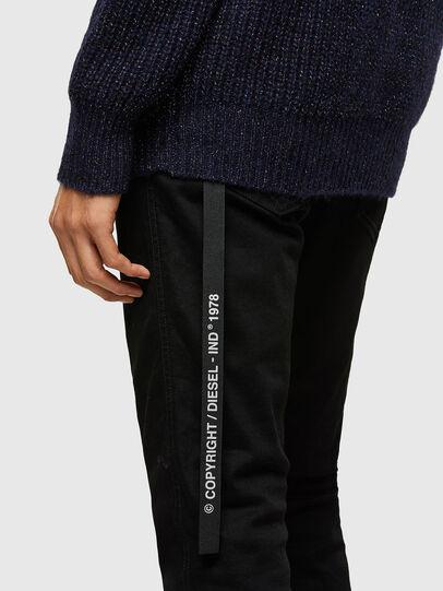 Diesel - K-CARBON, Dark Blue - Sweaters - Image 4