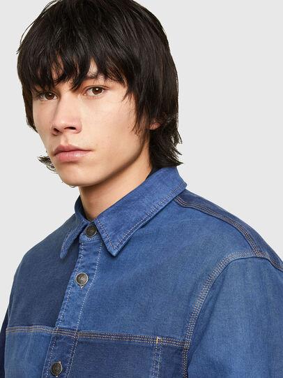 Diesel - D-CORUS-SP JOGGJEANS, Blue - Denim Shirts - Image 3