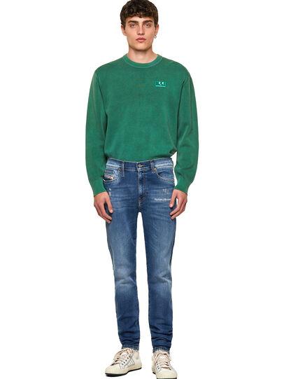 Diesel - D-Istort Skinny Jeans 009PU, Medium Blue - Jeans - Image 5