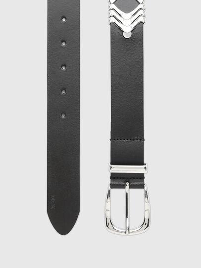 Diesel - B-BURNY, Negro - Cinturones - Image 3