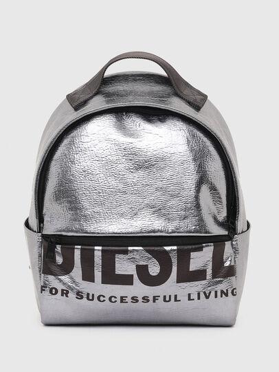 Diesel - F-BOLD BACK FL II, Silver - Backpacks - Image 1