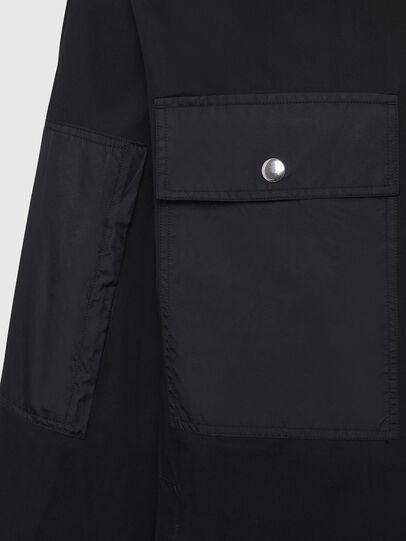Diesel - S-AUSTIN, Black - Shirts - Image 3