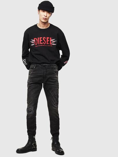 Diesel - CL-SNOR-LITMA, Black - Sweatshirts - Image 7