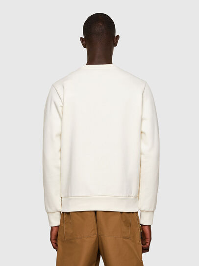 Diesel - S-GIRK-A74, White - Sweatshirts - Image 2
