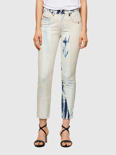 Diesel - D-Joy Slim Jeans 009UX, Medium Blue - Jeans - Image 1