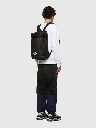 Diesel - SKULPTOR, Black - Backpacks - Image 6
