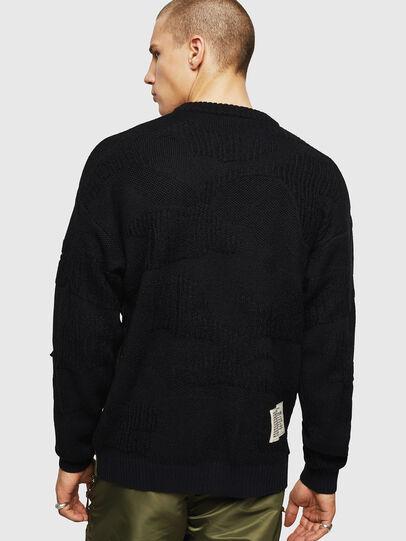 Diesel - K-MUSCHIO, Black - Sweaters - Image 2