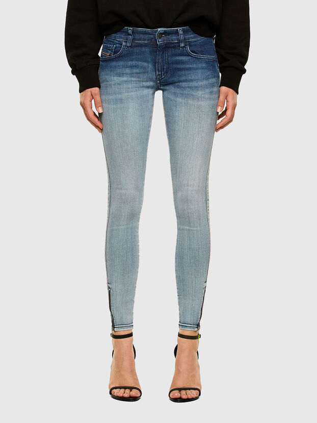 Slandy Low 009CV, Light Blue - Jeans