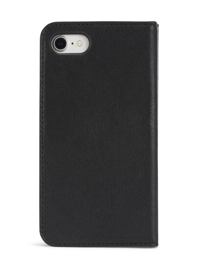 Diesel - BLACK DENIM/STUD/ZIPPER IPHONE 8 PLUS/7 PLUS  FOLIO, Black - Flip covers - Image 6
