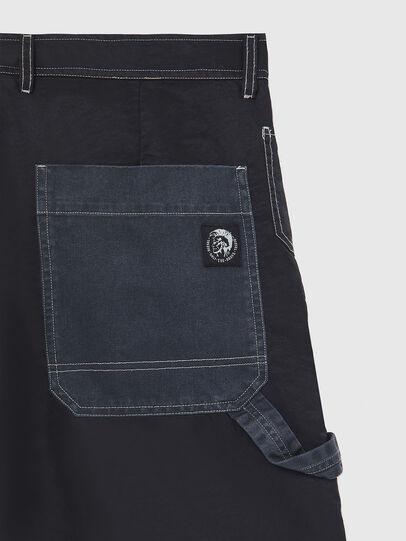 Diesel - P-TRENT-SHORT, Black/Blue - Shorts - Image 3
