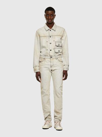 Diesel - D-Kras Slim Jeans 09A53, White - Jeans - Image 6