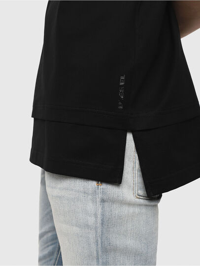 Diesel - T-YORI-Y1, Black - T-Shirts - Image 4
