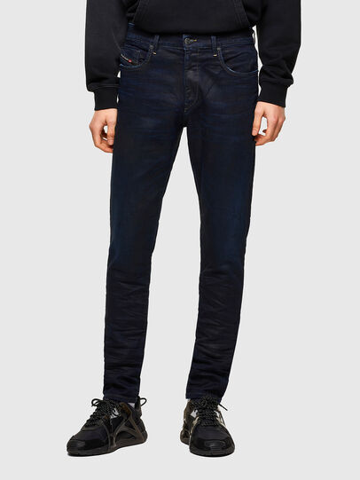 Diesel - D-Strukt Slim JoggJeans® 069RW, Dark Blue - Jeans - Image 1