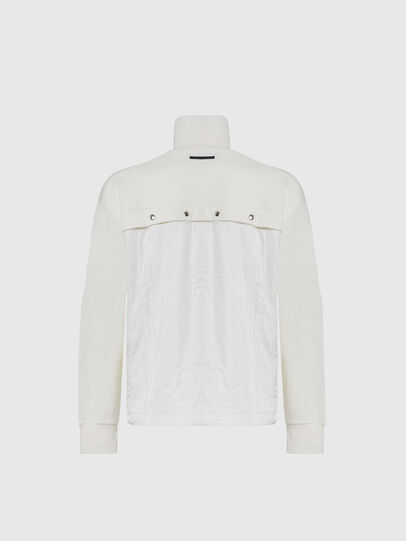 Diesel - S-STUFF, White - Sweatshirts - Image 2