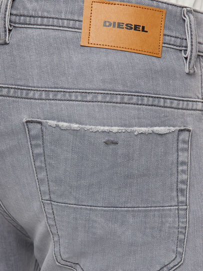 Diesel - Thommer Slim Jeans 009DC, Light Grey - Jeans - Image 4