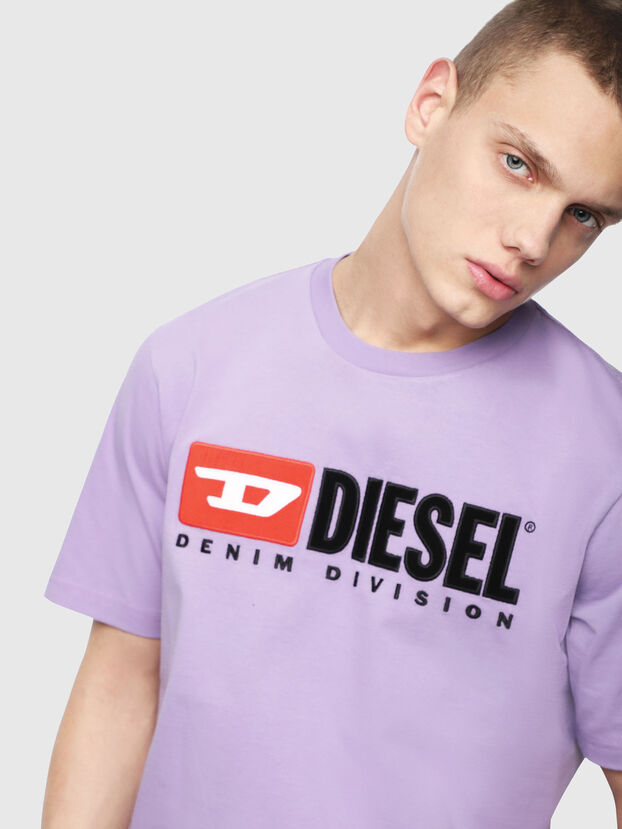 T-JUST-DIVISION, Lilac - T-Shirts