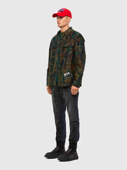 Diesel - S-JESSY-DES, Military Green - Shirts - Image 5