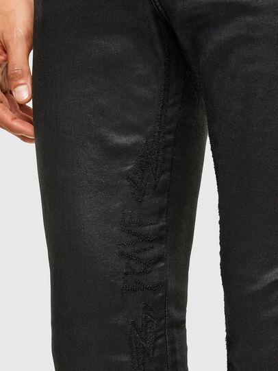 Diesel - D-Reeft Skinny JoggJeans® 069TE, Black/Dark Grey - Jeans - Image 5