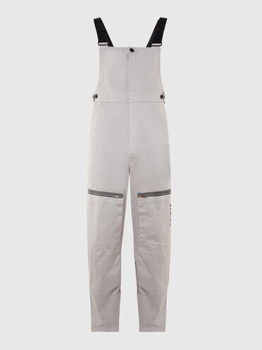 Green Label jumpsuit with patch pockets