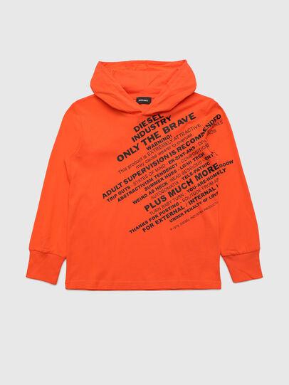 Diesel - TDIEGOHOODS3 ML, Orange - T-shirts and Tops - Image 1
