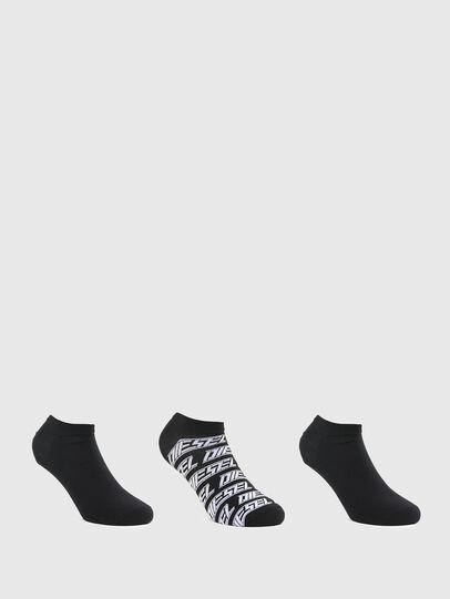 Diesel - SKM-GOST-THREEPACK, Black - Socks - Image 1