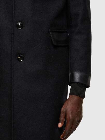 Diesel - W-COLBAX, Black - Winter Jackets - Image 5