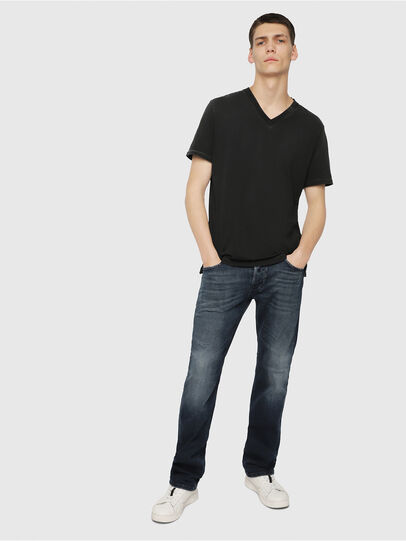 Diesel - Larkee 087AS, Dark Blue - Jeans - Image 4