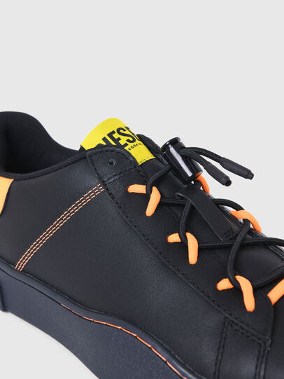 Diesel - S-CLEVER SO C, Black/Yellow - Sneakers - Image 4