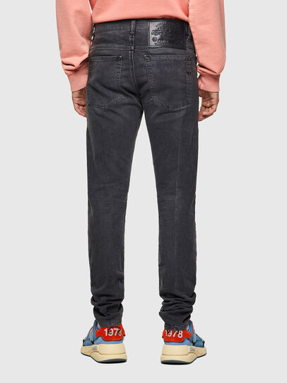 Diesel - D-Amny Skinny JoggJeans® 09A74, Black/Dark Grey - Jeans - Image 2