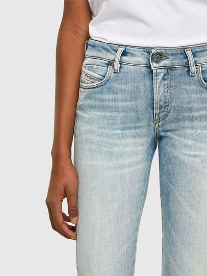 Diesel - D-Jevel Slim Jeans 009PQ, Light Blue - Jeans - Image 3