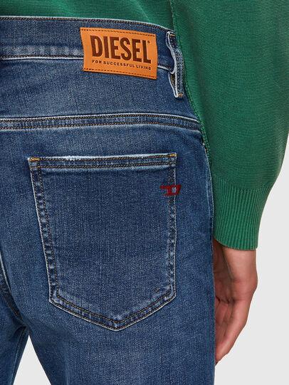 Diesel - D-Istort Skinny Jeans 009PU, Medium Blue - Jeans - Image 4