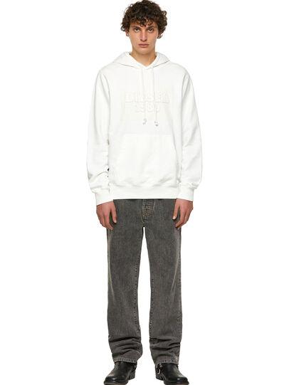 Diesel - DxD-21, White - Sweatshirts - Image 5