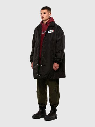 Diesel - W-KODYN, Black - Winter Jackets - Image 6