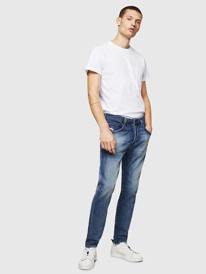 Diesel - D-Bazer 0870H, Medium Blue - Jeans - Image 5