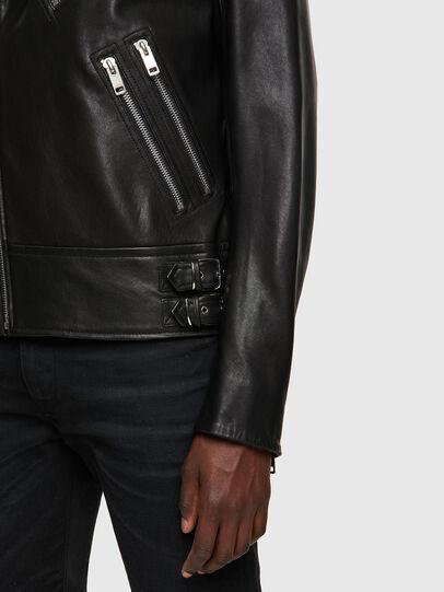 Diesel - L-GARRETT-A, Negro - Chaquetas de piel - Image 3